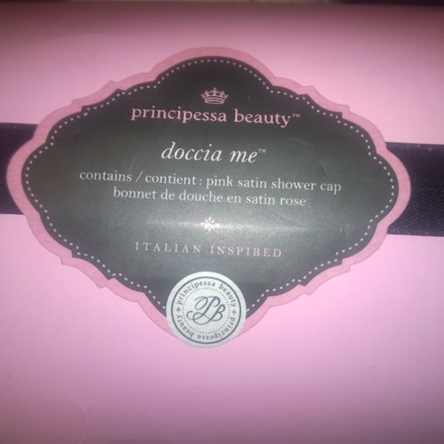 Doccia Me Satin Shower Cap Packaging Front