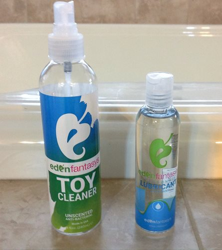 eden toy cleaner & lube