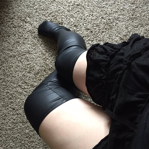 Stockings without garter belt