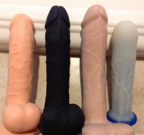 Underside of Dildos