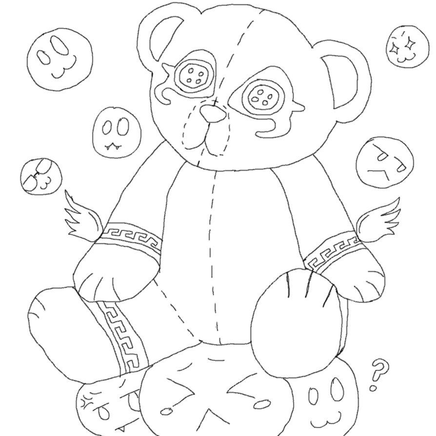 Maleria's Possessed Teddy overlay