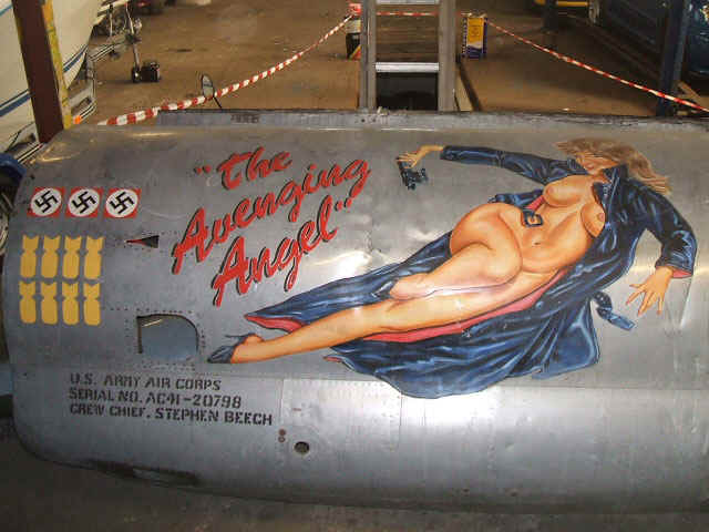 Classic WWII Airplane Nose Art