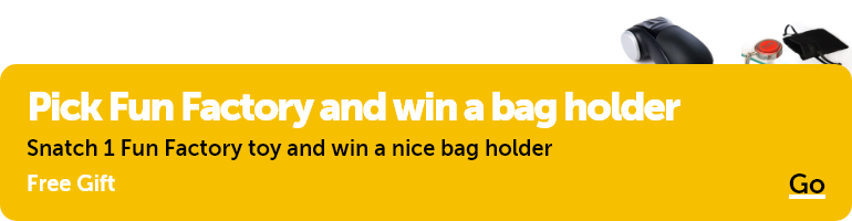 Pick Fun Factory and win a bag holder