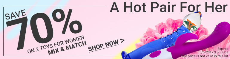A Hot Pair For Her Save 70% On 2 Items For Women