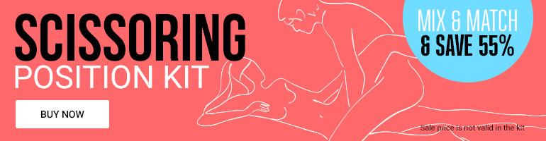Save 55% On Scissoring Position Sex Toy Kit