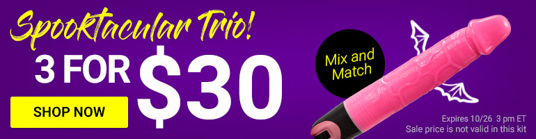 Create Your Spooktacular Trio! Get 3 Toys For $30