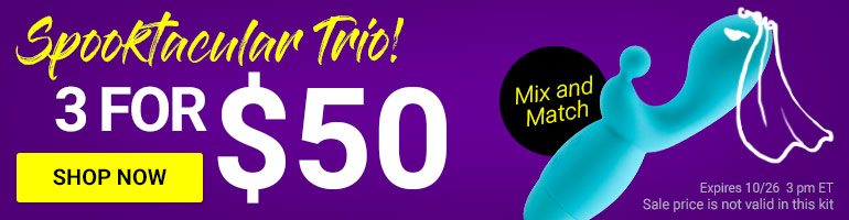 Create Your Spooktacular Trio! Get 3 Toys For $50