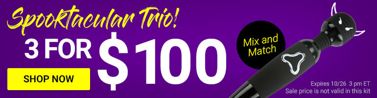 Create Your Spooktacular Trio! Get 3 Toys For $100