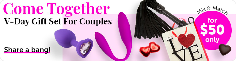 Get V-Day Gift Set For Both for $50 Only