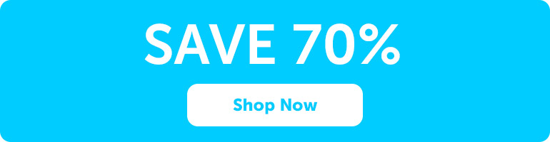 Save 70% On Selected Items. Limited Quantity