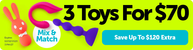 3 Toys For $70. Mix & Match