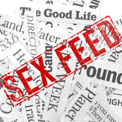 GOP Denies DADT Repeal; Vote Naked Illinois; Twitter Gets Dirty; M16's Semen Weapon
