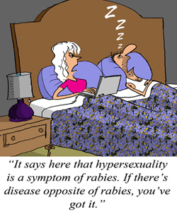 Hypersexuality Can be Fun. Or It Can be Rabies ...
