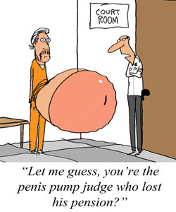 Oklahoma Penis-Pump Judge Loses Pension