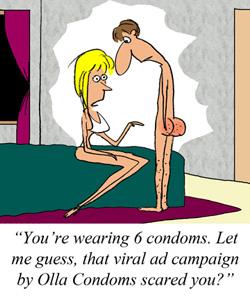 Condom Marketing Campaign Isn't Your (Facebook) Friend