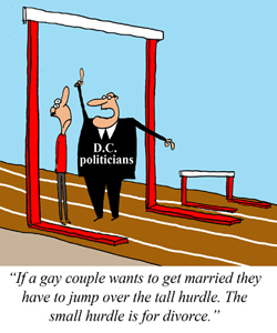 "D.C. to Introduce ""Gay Divorcee"" Bill"
