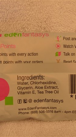 Chlorhexidine. It's in your Eden Wipes and many of the toy sprays.  What is it?