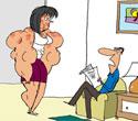 Fearing Infidelity, U.K. Man Fattens Wife on Steroid Diet