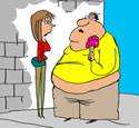 Snooping on Your Partner Can Make You Fat