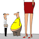 Will the World's Tallest Transvestite please stand up?