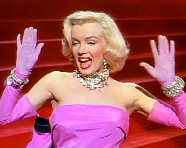 Monroe in Gentlemen Prefer Blondes