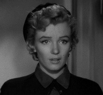 Monroe in Don't Bother to Knock