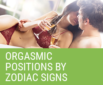 Orgasmic positions by zodiac signs