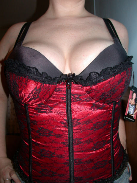 Photo of bustier with bra