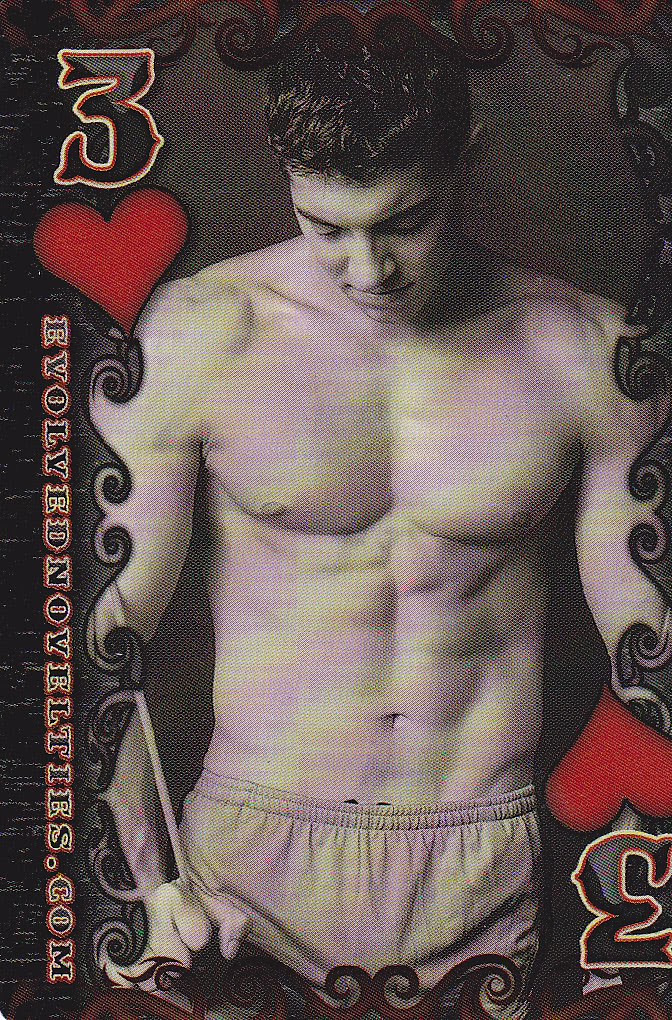 Evolved Male Playing Cards