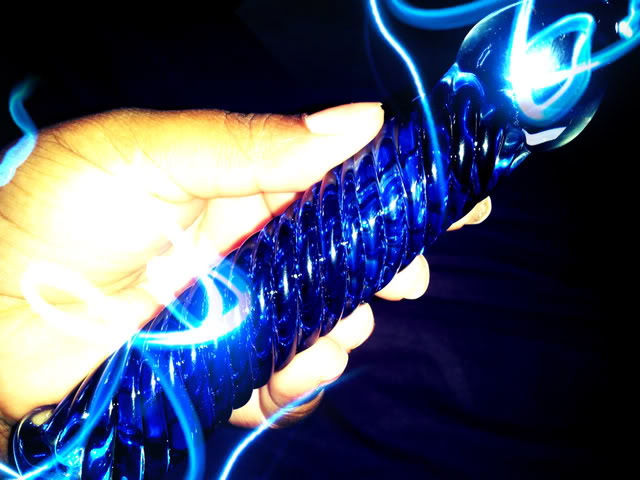 Blue swirl - Traditional dildos - Review by Miss Nessa Blue swirl - dildo review by Miss Anonymous - 웹