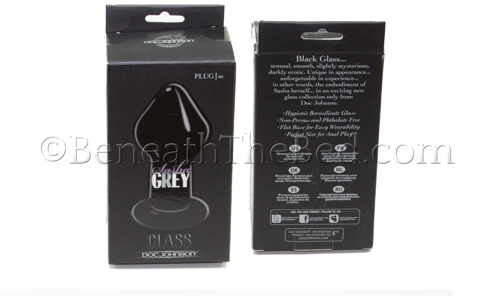 Sasha Grey Plug Packaging