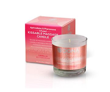 Dona kissable massage candle