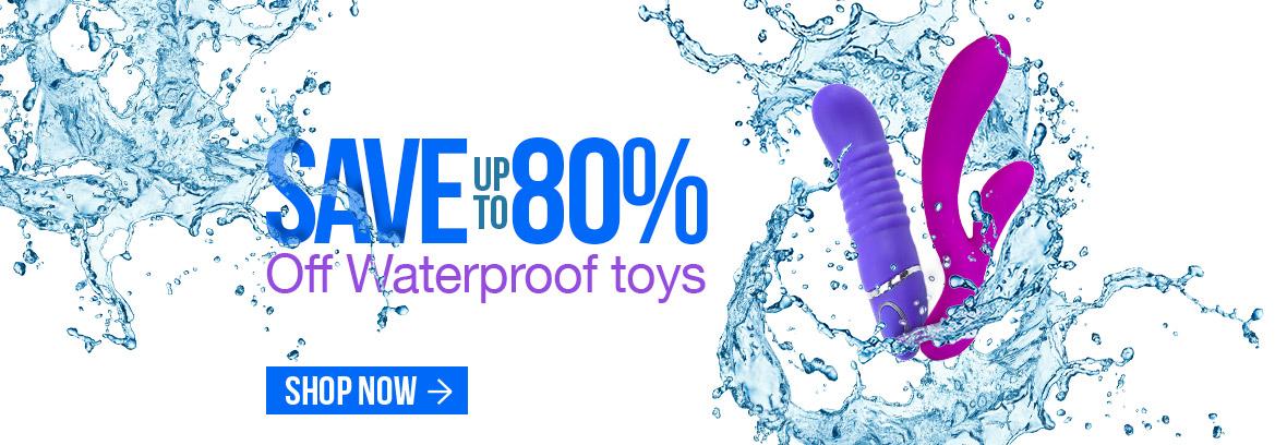 Waterproof Sex Toys on Sale