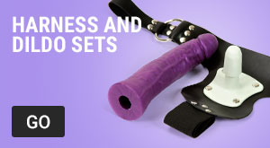Harness and dildo sets