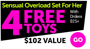 Sensual Overload Set For Her With Order $25+