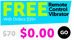 FREE Vibrating Egg With Orders $39+