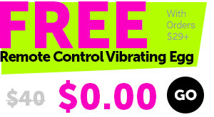Free Control Vibrating Egg With Orders $29+
