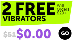 2 Free Vibrators With Orders $29+