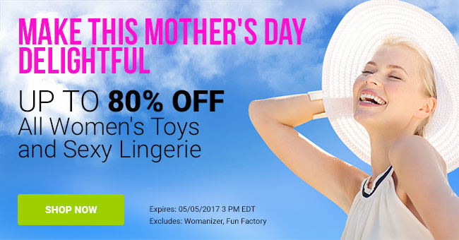 Save Up To 80% On Toys For Women & Lingerie