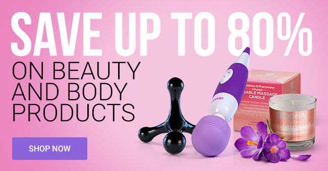 Save Up To 80% on Body Care Products