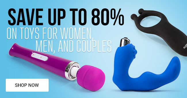 Save Up To 80% on Adult Toys