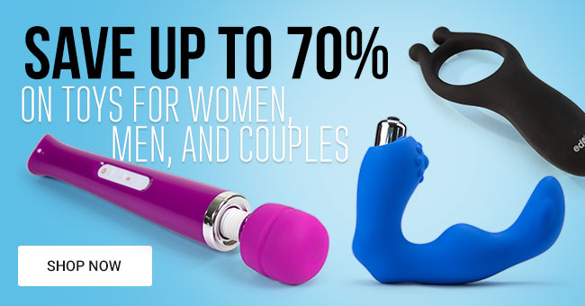 Save Up To 70% on Adult Toys