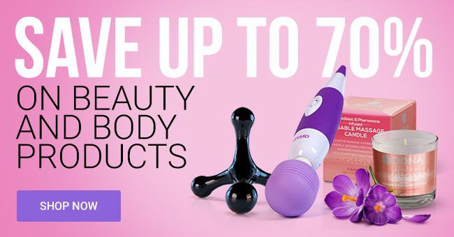 Save Up To 70% on Body Care Products
