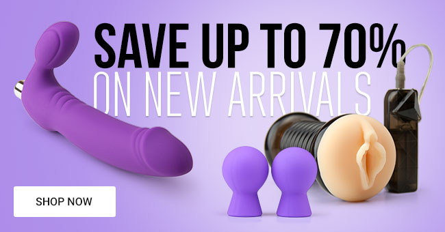 Save Up To 70% on New Sex Toys