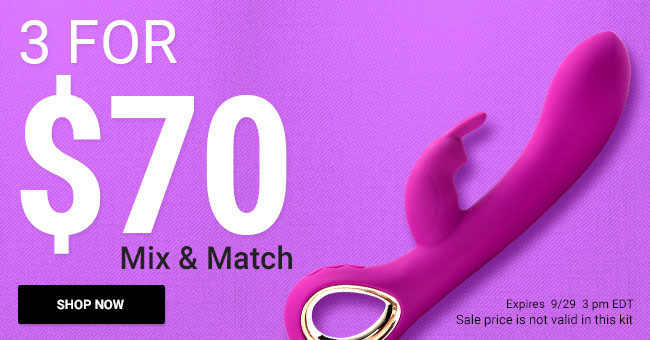 Get 3 Sex Toys for $70