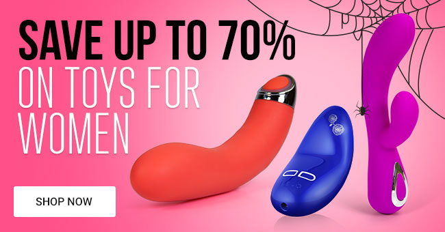 Save Up To 70% on Sex Toys for Women