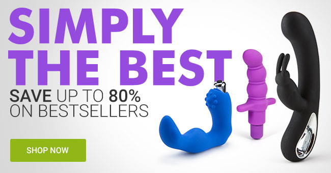 Save up to 80% on Bestselling Adult Toys