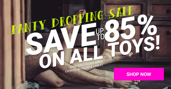 Save Up To 85% on Sex Toys for Women