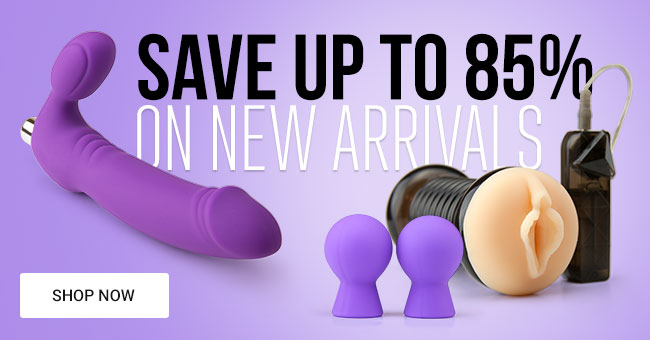 Save Up To 85% on New Sex Toys