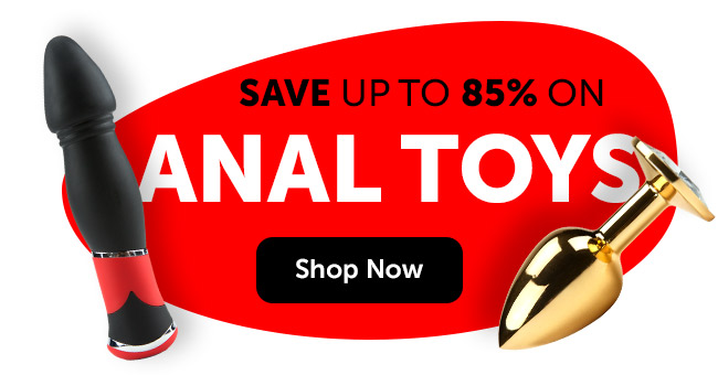 Save Up To 85% on Anal Toys